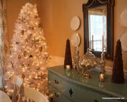 brown christmas tree sale my dining room decorated for christmas with a white tree