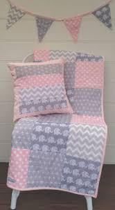 various ideas for pink and gray crib bedding sets baby