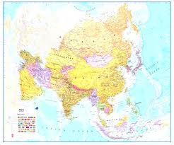Asia Map Labeled by Asia Maps At Aisa Map Evenakliyat Biz