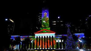 brisbane city hall christmas light spectacular 20141212 youtube