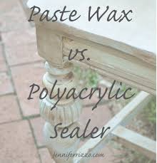 best non yellowing white eggshell paint how to seal painted furniture paste wax vs polyacrylic