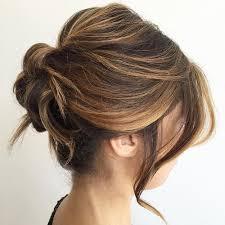 60 easy updo hairstyles for medium length hair in 2018