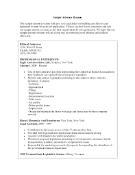 Paralegal Resume Example Sample Legal Resumes