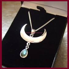 sterling silver drop necklace images Moon drop necklace labradorite 925 sterling silver crescent moon jpg