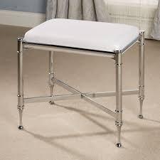 Perla Vanity Chair Furniture Wood Vanity Stool With Swivel Vanity Stool