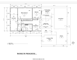 How To Draw Floor Plan In Autocad by Autocad 2d House Plan Drawings Arts