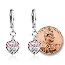 rhodium earrings sensitive ears jual rhodium plated earrings hypoallergenic jewelry for