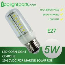 24v led light bulb 2pcs warm day cool white 10 30vdc e26 e27 12v 24v led light