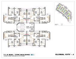 layout amenties rustomjee global city u2013 globalcity in