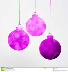 Matt White Christmas Decorations by Purple Christmas Decoration Concept Stock Photo Image 57488476