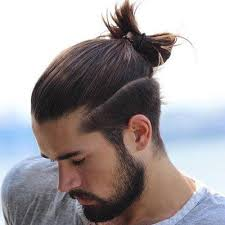 men s top knot hairstyles hair style haircut styles and knot