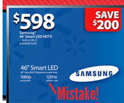 walmart led tv black friday black friday 2012 ad offers bargain deal on samsung un46eh5300