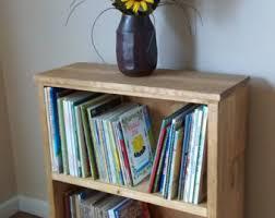 Wooden Bookshelf Wood Bookshelf Etsy