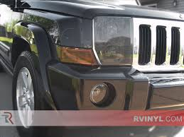 jeep commander black headlights rtint custom headlight tint