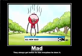 Regular Show Meme - mad regular show know your meme