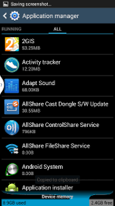 application manager android samsung galaxy s 3 application manager no sd card present but