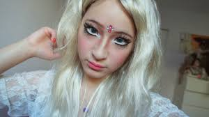 Barbie Makeup For Halloween by