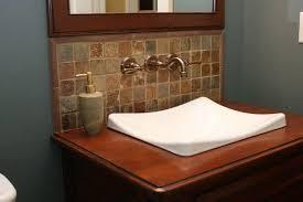 Bathroom Sink Backsplash Ideas Bathroom Sink Backsplash Home Designs Idea