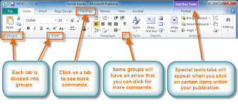 microsoft word publishing layout view publisher 2010 getting to know publisher 2010 full page