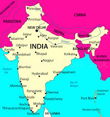 Hyderabad India Map by India Holidays