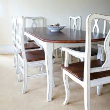 dining table shabby chic dining table centerpiece wood cream