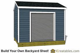 Cedarburg Overhead Door 10x12 Shed With Roll Up Door Cedarburg Wi 10x15 Barn With 8x7