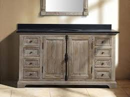 distressed wood bathroom cabinet the most amazing distressed wood bathroom vanity for your property