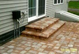 stone patio steps hardscape contractors u2022 pa