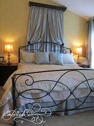 embellish dramatic master bedroom along with using a curtain rod