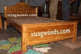 Teak Wood Double Cot Designs