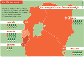 Africas Map by Internews Data Dredger Malnutrition The Killer No One Suspects