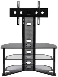Tv Stands For 50 Inch Flat Screen Amazon Com Z Link Zl54144mu Tv Stand For 44 Inch Tv Madrid Glass