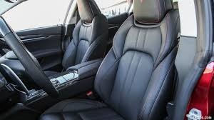 maserati ghibli interior 2017 maserati ghibli sq4 sport package interior front seats