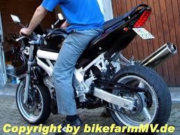 2003 Sv 650 Suzuki 03 Heckhöherlegung Bikefarmmv
