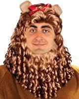 amazon com lion costume wig cowardly costume lion mane cowardly