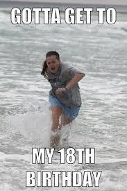 18th Birthday Memes - otter creek youthgrp on twitter promised libby a birthday meme