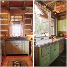 lodge kitchen rustic kitchens
