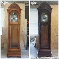 Herman Miller Clock Howard Miller Grandfather Clock Refinish