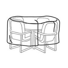 Cover For Patio Table And Chairs Table U0026 Patio Set Covers