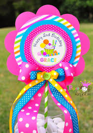 candyland centerpiece deluxe birthday by thepaperkingdom on etsy