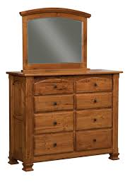Bedroom Dresser With Mirror Luxury Amish Mission Bedroom Set Solid Rustic Cherry Wood