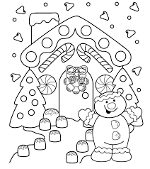 28 christmas coloring pages images free
