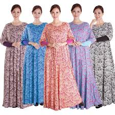 new style flower print ladies beautiful elegant islamic muslim