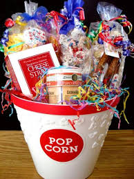 popcorn baskets custom gift baskets popcorn gift basket yo pop etc