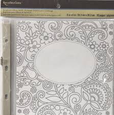 recollections photo album refill pages recollections 8 x 8 scrapbook album refill pages with bonus