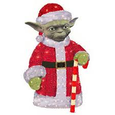 decoration 3 d lighted wars yoda 28 in model
