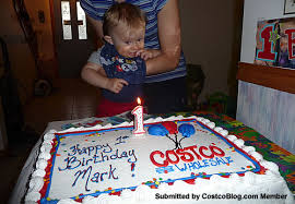 pic costco birthday cake