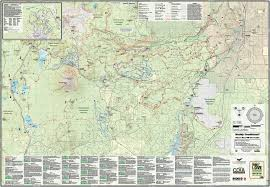 Jackson Hole Map Bend Area Trail Map Adventure Maps