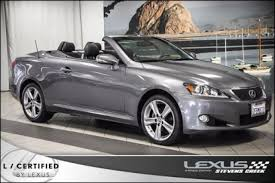 lexus is 250 convertible used for sale used 2015 lexus is 250 c convertible pricing for sale edmunds