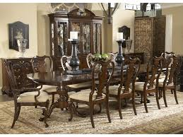 american table and chairs belfort signature belmont 11 piece fredericksburg dining table